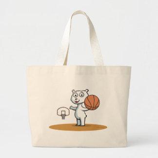 Polar Bear Basketball Bag