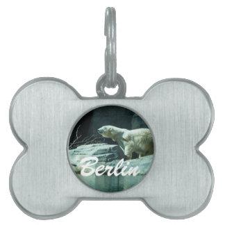 Polar Bear: Berlin Pet Tags