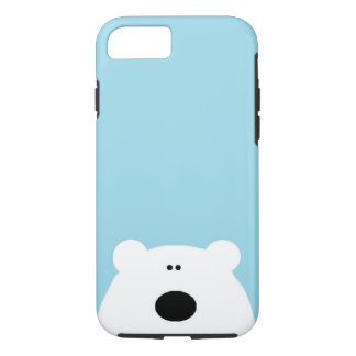 Polar Bear Blue iPhone 8/7 Case