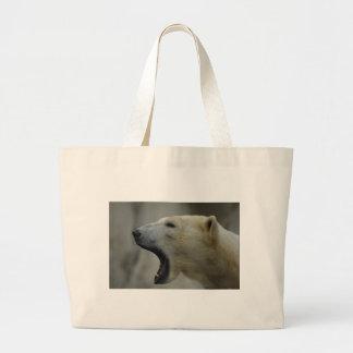 Polar Bear calls you Canvas Bag