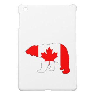 "Polar bear ""Canada"" Cover For The iPad Mini"