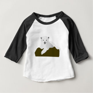 Polar Bear Cartoon Baby T-Shirt
