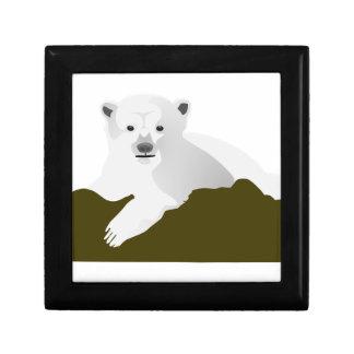 Polar Bear Cartoon Gift Box
