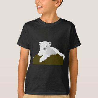 Polar Bear Cartoon T-Shirt
