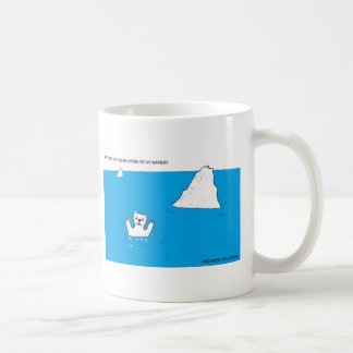 Polar bear chemistry joke classic white coffee mug