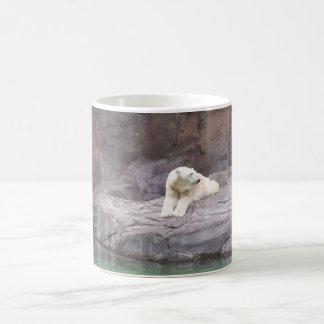 polar bear classic white coffee mug