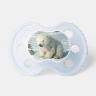 Polar Bear Cub Pacifier