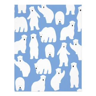 Polar Bear Day - Appreciation Day Letterhead