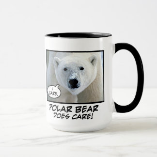 Polar Bear Does Care ! mug