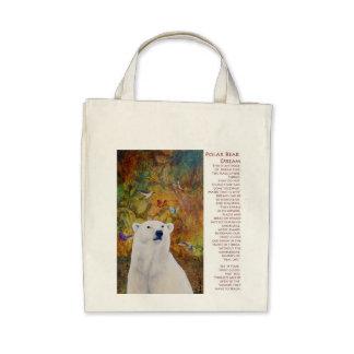 Polar Bear Dream Tote Bags