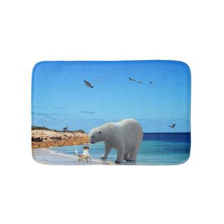 Polar Bear Encounter, Bath Mat