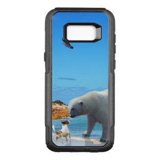 Polar Bear Encounter, OtterBox Commuter Samsung Galaxy S8+ Case