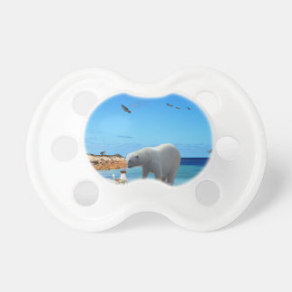 Polar Bear Encounter, Pacifier