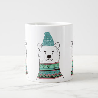 Polar Bear Espresso Mug