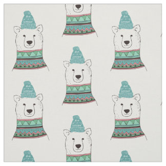 Polar Bear Fabric