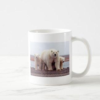 Polar Bear Family Classic White Coffee Mug