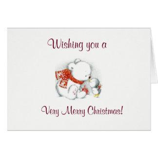 Polar Bear Friends Card