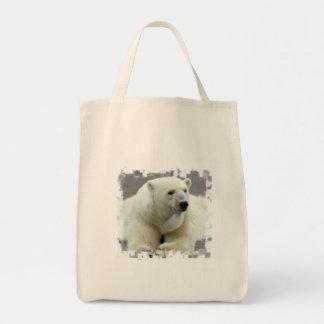 Polar Bear Grocery Bag