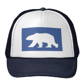 Polar bear hat. Make a statement Trucker Hat