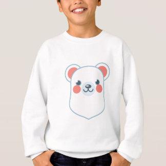 Polar Bear Head Sweatshirt