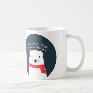 Polar Bear Hugs and Warm Wishes Coffee Mug