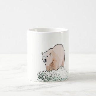 Polar Bear Ice Classic White Coffee Mug