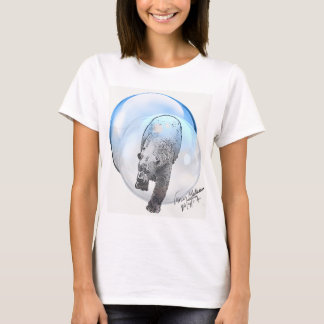 Polar Bear in Bubble T-Shirt
