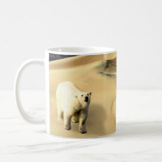 Polar Bear in Desert Classic White Coffee Mug