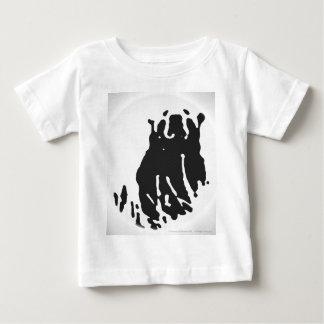 Polar Bear in Grey Baby T-Shirt