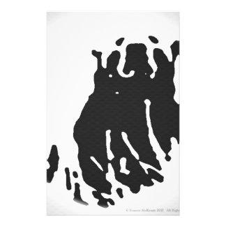 Polar Bear in Grey Stationery
