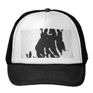 Polar Bear in Grey Trucker Hat