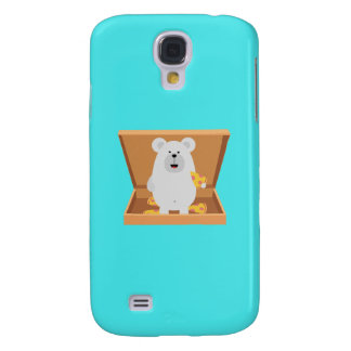 Polar Bear in Pizzabox Q1Q