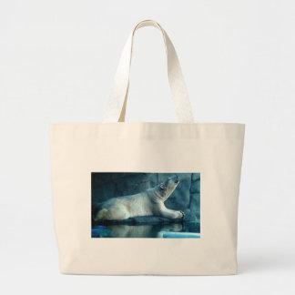 Polar Bear In Prayer Bag