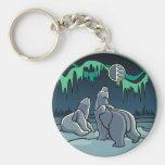 Polar Bear Key Chain Bear Gift Polar Bear Keychain