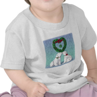 Polar Bear Kiss Tshirt