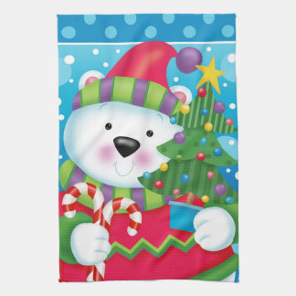 Polar Bear Kitchen Towel