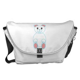 Polar Bear Large Courier Bags