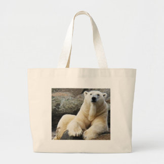 Polar Bear Large Tote Bag