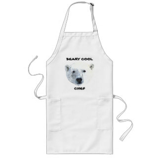 POLAR BEAR LONG APRON