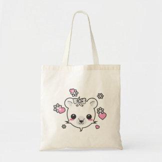 Polar Bear Love Budget Tote Bag