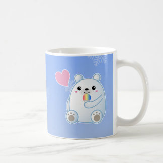 Polar Bear Love Coffee Mugs