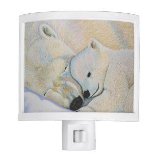 Polar Bear Love Night Light