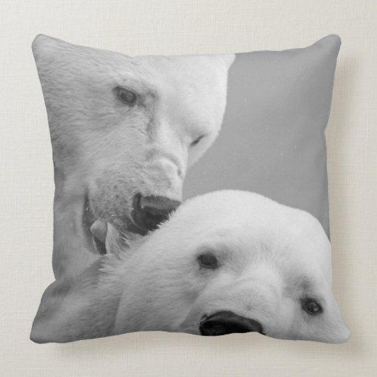 Polar Bear Love Pillow