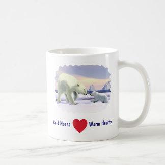 Polar Bear - Mama Nose Best Basic White Mug