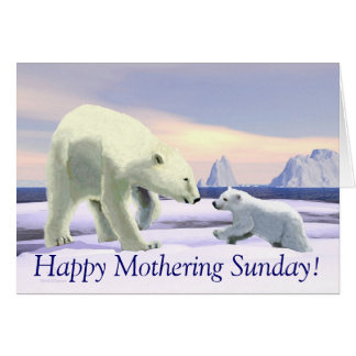 Polar Bear - Mama Nose Best Card