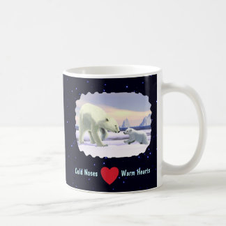 Polar Bear - Mama Nose Best Classic White Coffee Mug