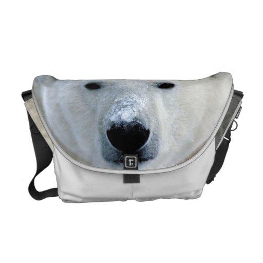 Polar Bear Medium Rickshaw Messenger Bag