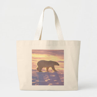 Polar Bear Morn 3 Jumbo Tote Bag