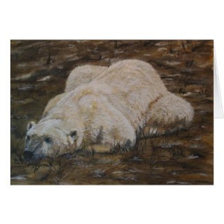 Polar Bear Note Card