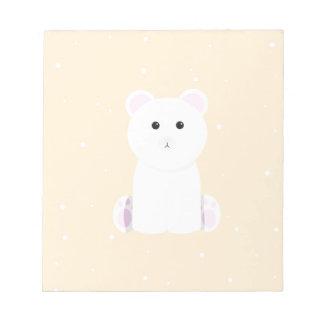 Polar Bear Note Pad